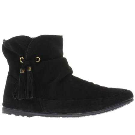 womens black schuh prime time boots schuh