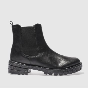 Schuh Black Eyes Open Womens Boots