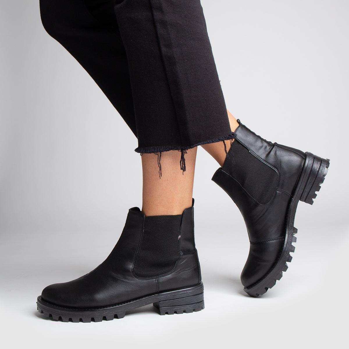 Damen Schwarz schuh Eyes Open Qualität Boots | schuh Gute Qualität Open beliebte Schuhe 3118a1