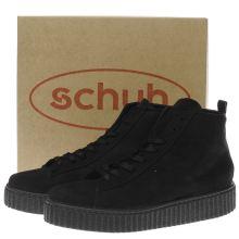 schuh black runaround boots