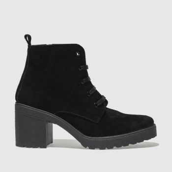 Schuh Black Chatty Womens Boots