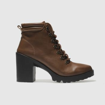 Schuh Brown Ringer Womens Boots