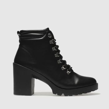 Schuh Black Ringer Womens Boots