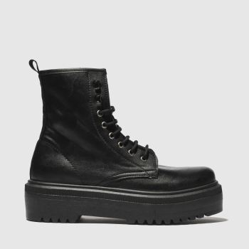 Schuh Black Big Deal Womens Boots