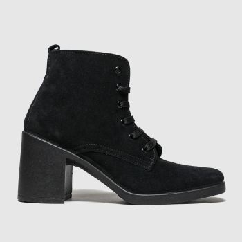 Schuh Black Chit Chat Womens Boots