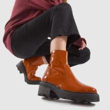 schuh Ally Patent Leather Chunky 1