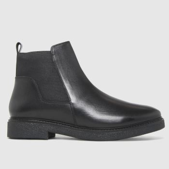 schuh Black Charlize Chelsea Womens Boots