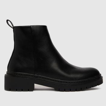 schuh Black Arizona Chunky Womens Boots
