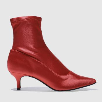 Schuh Red Strike A Pose Womens Boots