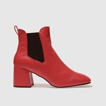 Schuh Red Fresh Womens Boots