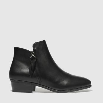 schuh black gangster boots