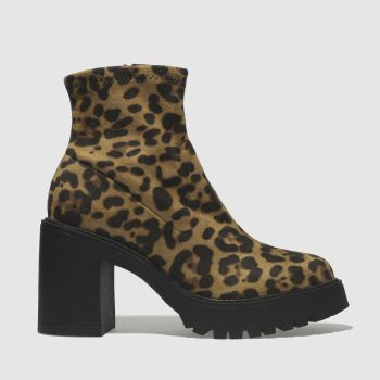 Schuh Brown & Black Splendid Womens Boots