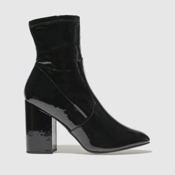 Schuh Black Solo Womens Boots