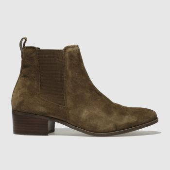 Schuh Tan Chillax Womens Boots from Schuh