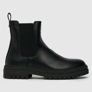 schuh Black Aloe Chelsea Boot Womens Boots