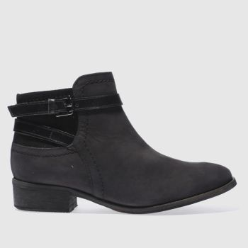 Schuh Black Adventure Womens Boots