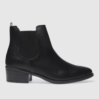 Schuh Black Vice Womens Boots