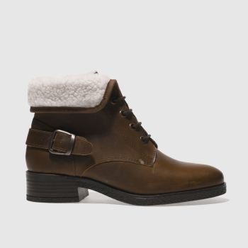 Schuh Brown Temptation Womens Boots