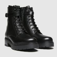 schuh Aria Leather Lace Up 1