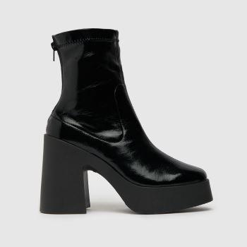 schuh Black Astoria Chunky Platform Womens Boots