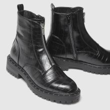 schuh Ashlyn Croc Front Zip 1