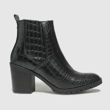 schuh Arielle Croc Heeled Chelsea 1