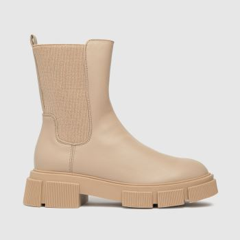 schuh Natural Aniston Chunky Chelsea Womens Boots