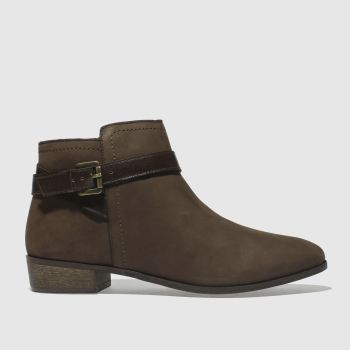 Schuh Brown Expedition Womens Boots