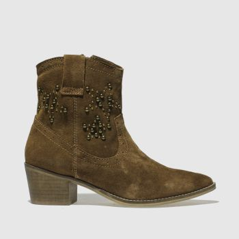 Schuh Tan Howdy Womens Boots