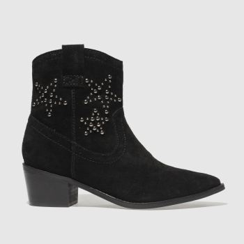Schuh Black Howdy Womens Boots