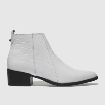 Schuh White Lyle Womens Boots