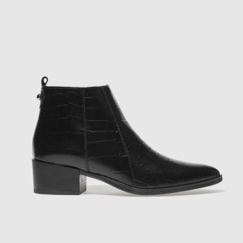 Schuh Black Lyle Womens Boots