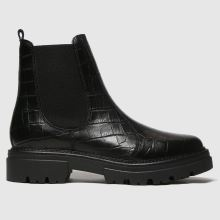 schuh Arlo Croc Leather Ankle 1