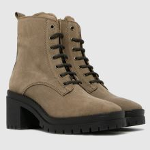 schuh Addy Suede Chunky Lace Up 1
