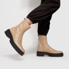 schuh Alina Leather Sock,2 of 4