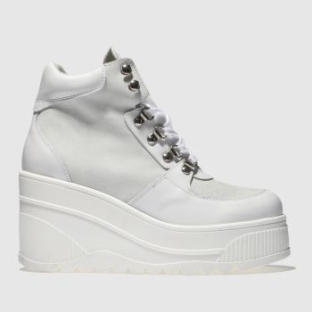 Schuh White Fierce Womens Boots