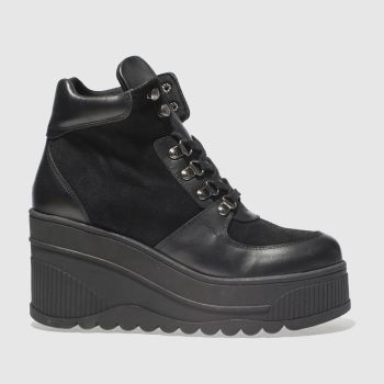 Schuh Black Fierce Womens Boots