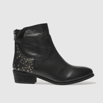 Schuh Black Galactic Womens Boots