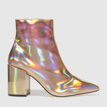 Schuh Gold On Point Womens Boots