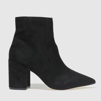 Schuh Black On Point Womens Boots