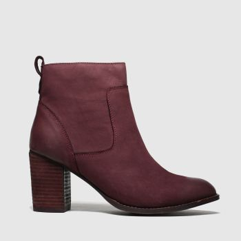 Schuh Burgundy Cosmo Womens Boots