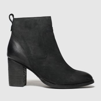 Schuh Black Cosmo Womens Boots