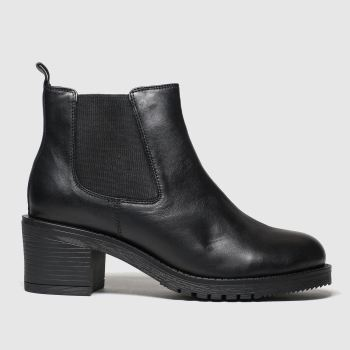 Schuh Black Fascinate Womens Boots