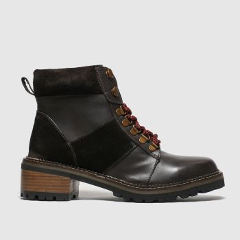 Schuh Brown Globetrotter Womens Boots
