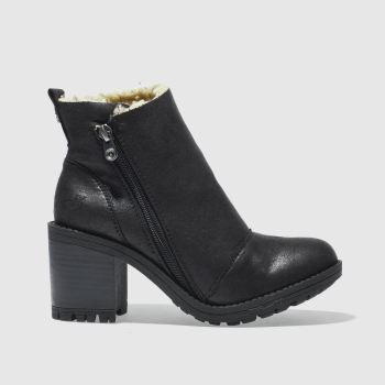 Blowfish Black Jumper Shearling Womens Boots