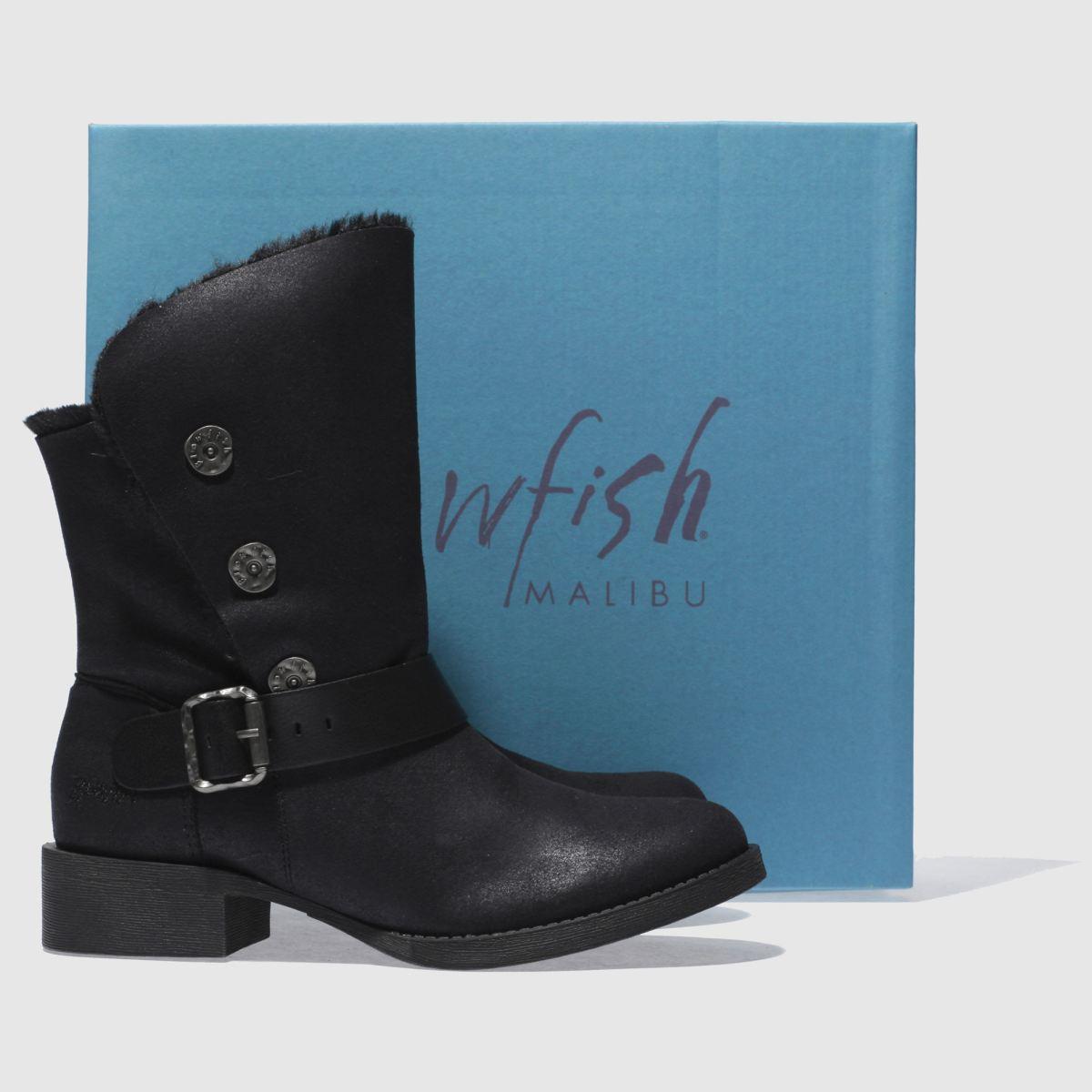 Damen Schwarz blowfish schuh Katti Shearling Boots | schuh blowfish Gute Qualität beliebte Schuhe cdcd51