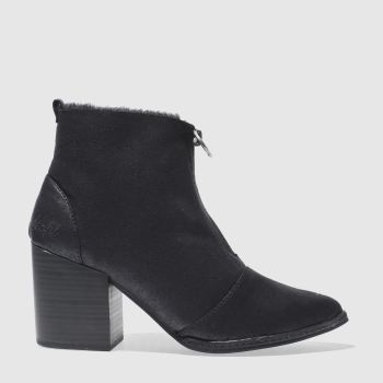 Blowfish Black Payten Shearling Womens Boots