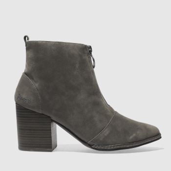 Blowfish Grey Payten Shearling Womens Boots