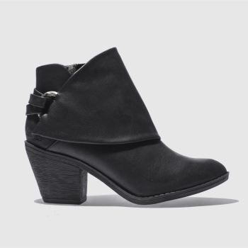 Blowfish Black Super Duper Womens Boots