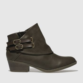 Blowfish Brown Sistee Womens Boots